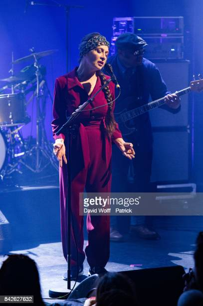 Catherine Ringer performs at La Cigale on September 4 2017 in Paris France
