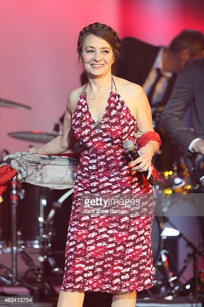 Catherine Ringer performs during Les Victoires De La Musique at Le Zenith on February 13 2015 in Paris France