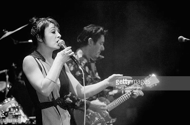 Catherine Ringer vocal performs with Les Rita Mitsoukou on March 8th 1994 at the Paradiso in Amsterdam Netherlands