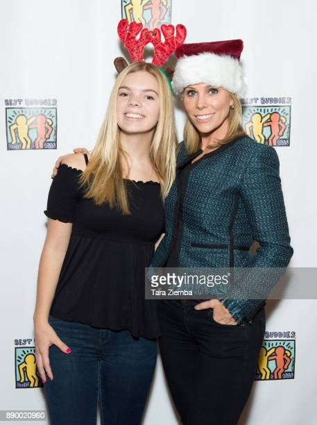 Catherine Rose Young and Cheryl Hines attend Bowling For Buddies at PINZ Bowling Entertainment Center on December 10 2017 in Studio City California