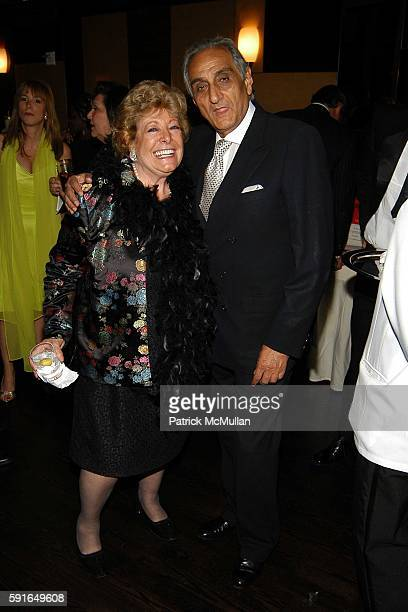 Catherine Saxton and Hormoz Sabet attend Roaring 20th Annual Women of Achievement Gala at Cipriani 23rd Street on June 6 2005 in New York City
