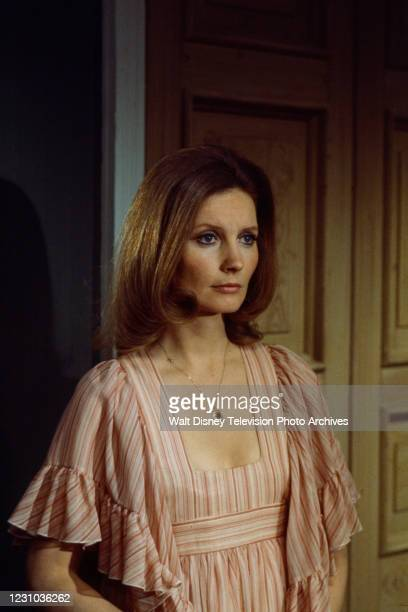 Catherine Schell appearing in the ABC tv series 'The Wide World of Mystery' episode 'Look Back in Happiness'.