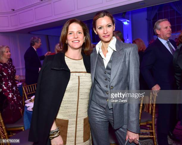 Catherine Shepherd and Ulla Parker attend The Boys' Club of New York Ninth Annual Winter Luncheon at 583 Park Avenue on February 26 2018 in New York...