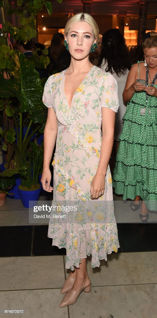 Catherine Steadman attends a private view of 'Frida Kahlo: Making Her Self Up' at The V&A on June 13, 2018 in London, England.