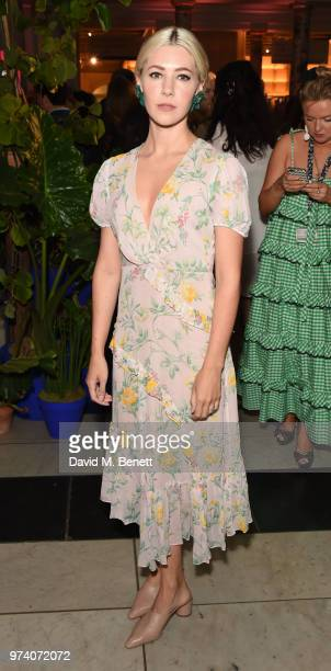 Catherine Steadman attends a private view of 'Frida Kahlo Making Her Self Up' at The VA on June 13 2018 in London England