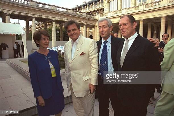 Catherine Tasca, French Cultural Affairs Minister, Jean Charles de Castelbajac, Didier Grumbach and Donald Potard .
