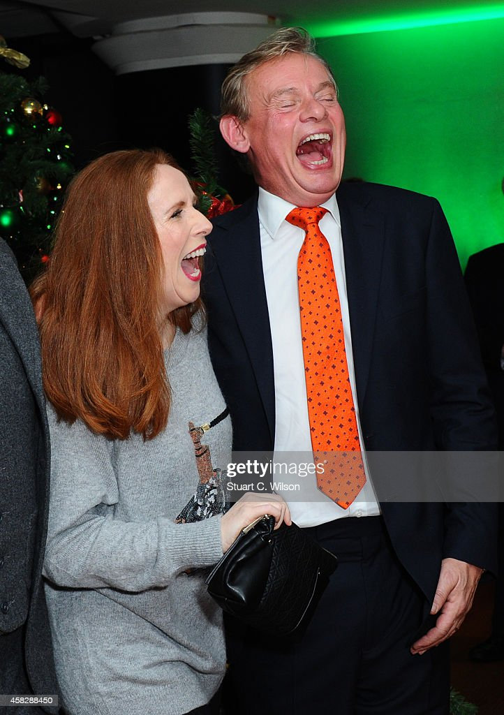 Catherine Tate and Martin Clunes attend the UK Premiere of 'Nativity 3: Dude Where's My Donkey?' at Vue West End on November 2, 2014 in London, England.