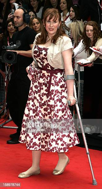 Catherine Tate Attends The 2006 British Academy Television Awards At London'S Grosvenor House Hotel