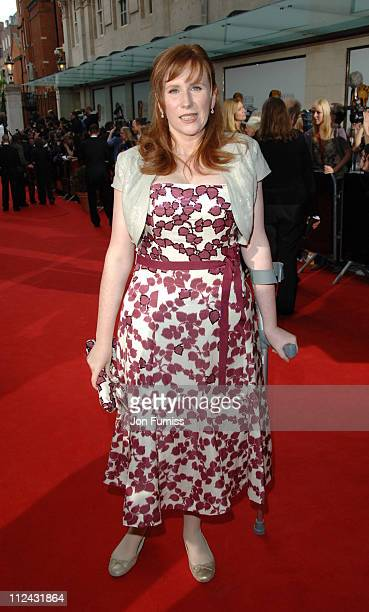 Catherine Tate during The 2006 British Academy Television Awards Arrivals at Grosvenor House in London Great Britain