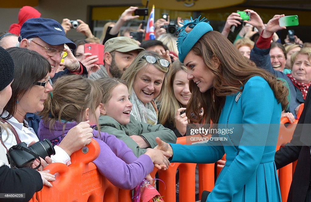 NZEALAND-BRITAIN-AUSTRALIA-ROYALS : News Photo