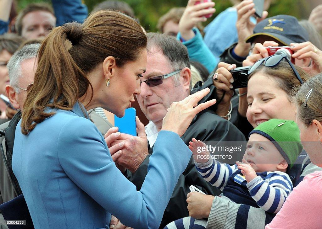 NZEALAND-BRITAIN-AUSTRALIA-ROYALS : ニュース写真