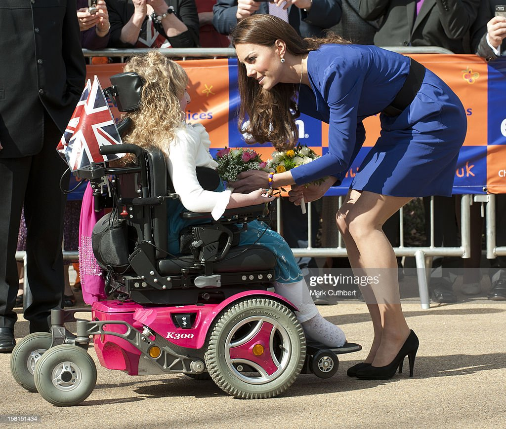 Duchess Of Cambridge Visits East Anglia'S Children'S Hospices : News Photo