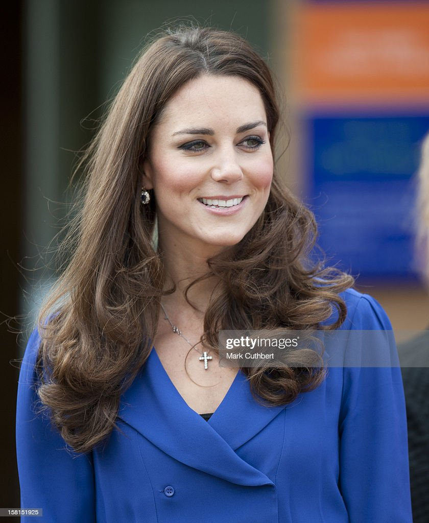 Catherine, The Duchess Of Cambridge, Royal Patron Of East Anglias Childrens Hospices (Each), Visits The Treehouse, A Hospice Run By Each In Ipswich To Formally Open.
