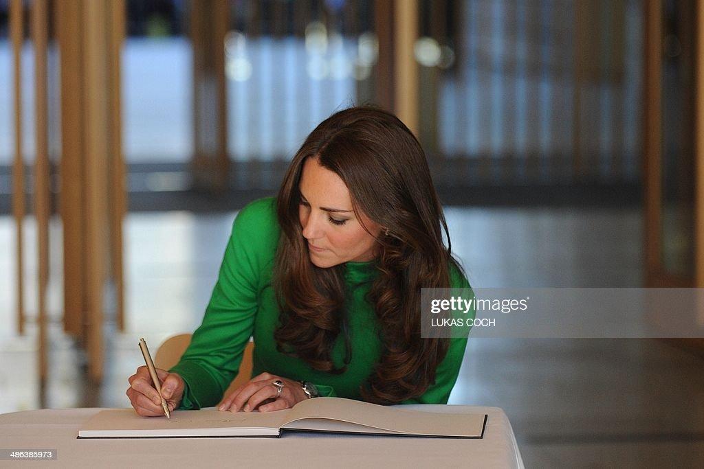 AUSTRALIA-BRITAIN-NZEALAND-ROYALS : News Photo