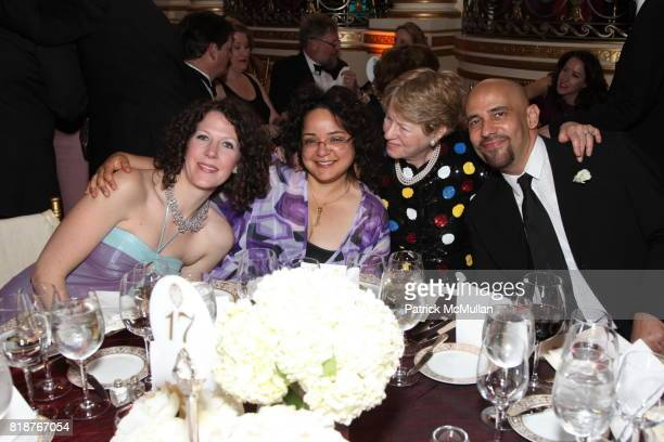 Catherine Tucker Gabriella Frank Peregrine Whittlesey and Nilo Cruz attend BALLET HISPANICO'S 40th Anniversary Spring Gala at The Plaza on April 19...