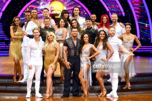 Catherine Tyldesley and Johannes Radebe Mike Bushell and Katya Jones AJ Pritchard and Saffron Barker Emma Barton and Graziano di Prima Kelvin...