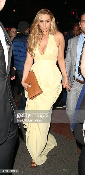 Catherine Tyldesley attending the British Soap Awards at the Palace Theatre on May 16 2015 in Manchester England