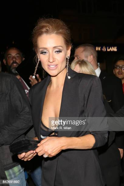Catherine Tyldesley attending the TV choice awards on September 4 2017 in London England