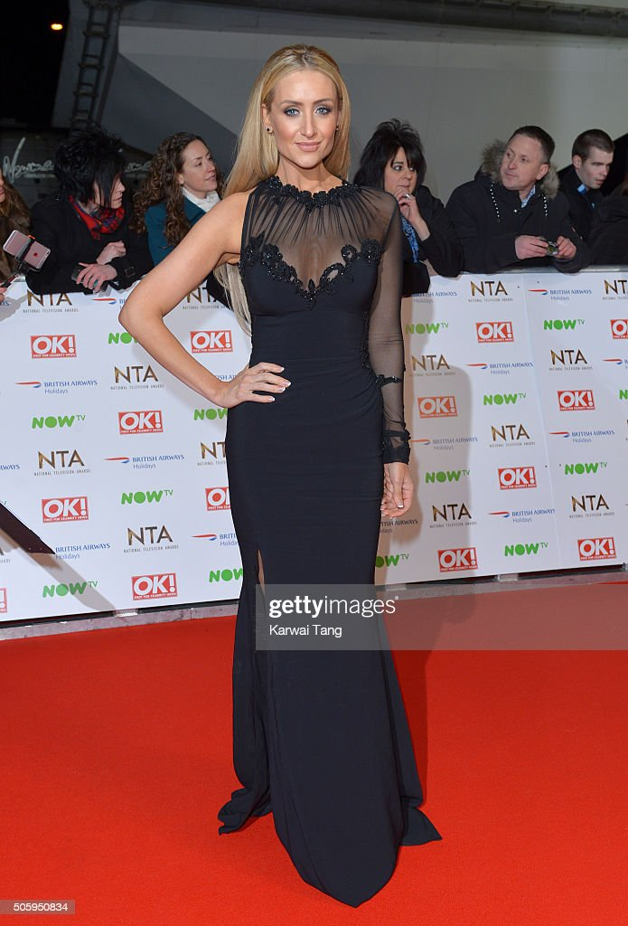 Catherine Tyldesley attends the 21st National Television Awards at The O2 Arena on January 20, 2016 in London, England.