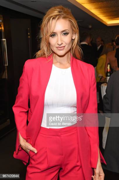 Catherine Tyldesley attends the British LGBT Awards 2018 at the London Marriott Hotel Grosvenor Square on May 11 2018 in London England