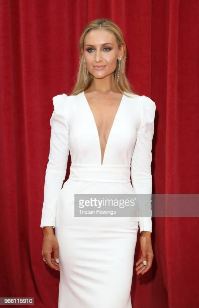 Catherine Tyldesley attends the British Soap Awards 2018 at Hackney Empire on June 2 2018 in London England