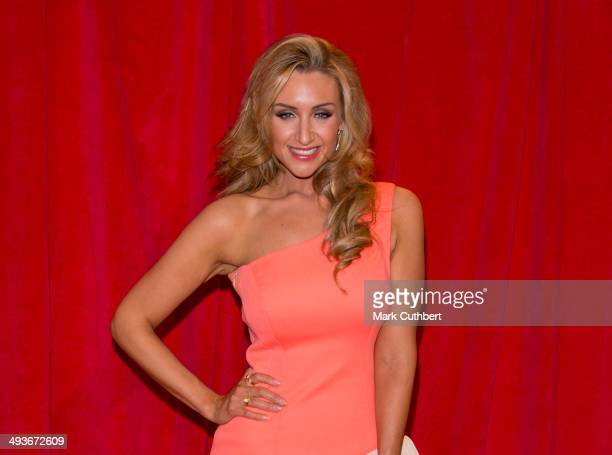 Catherine Tyldesley attends the British Soap Awards at Hackney Empire on May 24 2014 in London England