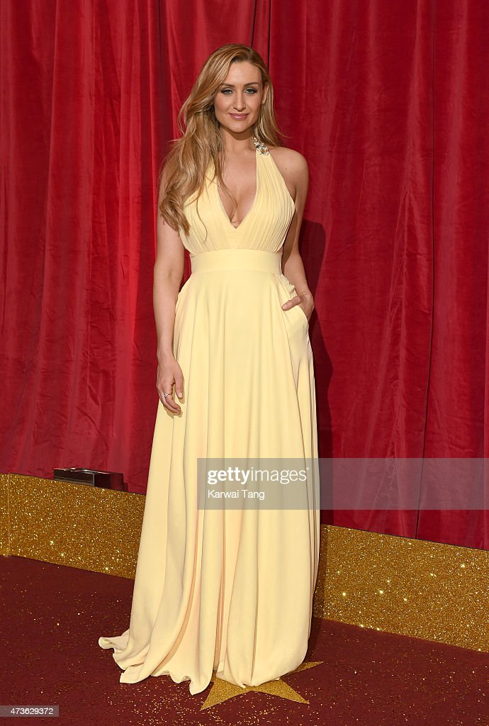 Catherine Tyldesley attends the British Soap Awards at Manchester Palace Theatre on May 16, 2015 in Manchester, England.