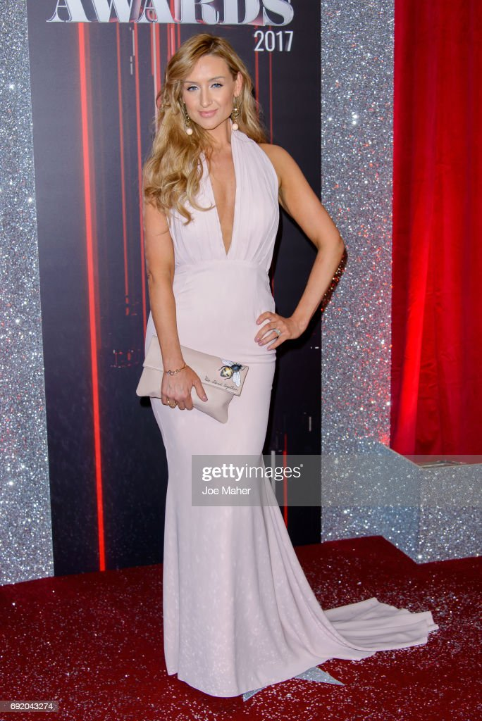Catherine Tyldesley attends the British Soap Awards at The Lowry Theatre on June 3, 2017 in Manchester, England.
