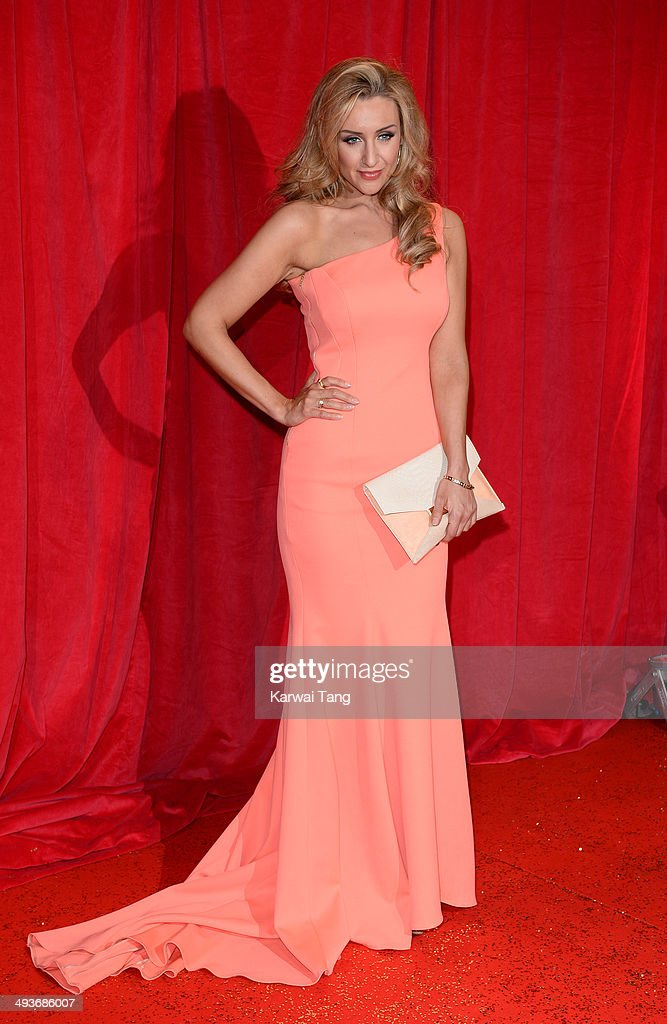 Catherine Tyldesley attends the British Soap Awards held at the Hackney Empire on May 24, 2014 in London, England.