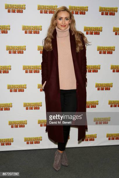 Catherine Tyldesley attends the launch of 'Dinosaurs in the Wild' at Event City on October 3 2017 in Manchester England