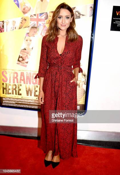 Catherine Tyldesley attends the premiere of Strangeways Here We Come at Vue Printworks on October 4 2018 in Manchester England