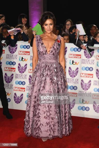 Catherine Tyldesley attends the Pride of Britain Awards 2018 at The Grosvenor House Hotel on October 29 2018 in London England