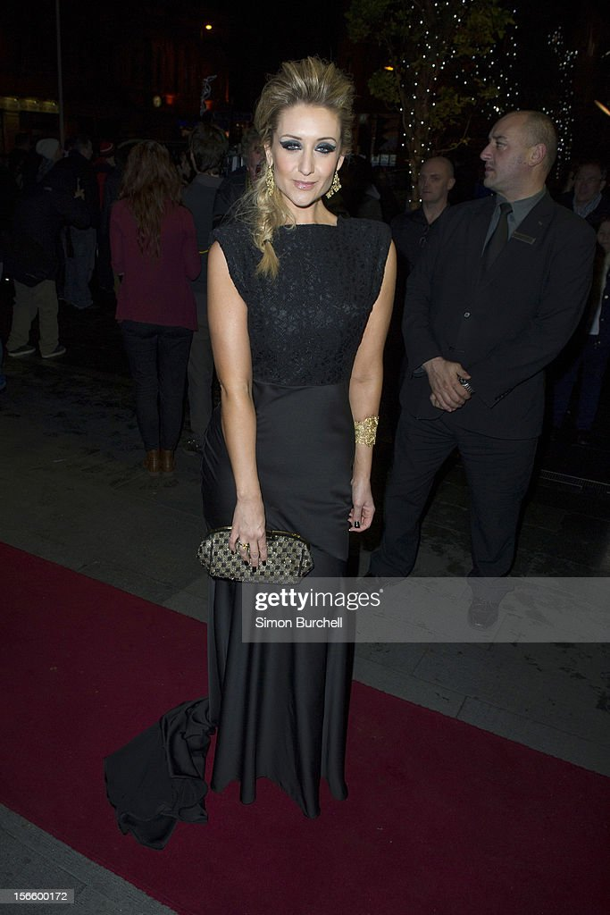 Catherine Tyldesley attends the RTS North West Awards held at the Hilton Hotel in Deansgate on November 17, 2012 in Manchester, England.