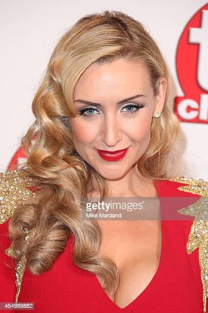 Catherine Tyldesley attends the TV Choice Awards 2014 at London Hilton on September 8 2014 in London England