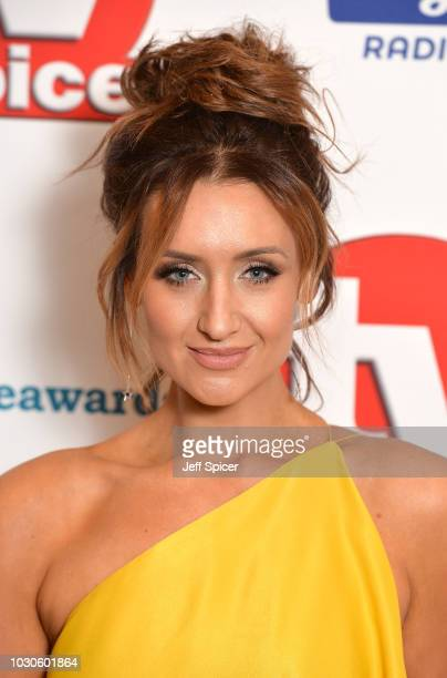 Catherine Tyldesley attends the TV Choice Awards at The Dorchester on September 10 2018 in London England