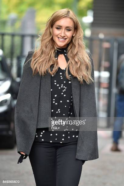 Catherine Tyldesley seen at the ITV Studios on September 19 2017 in London England
