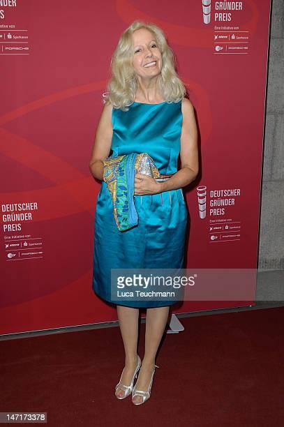 Catherine von Fuerstenberg-Dussmann attends 'Deutscher Gruenderpreis 2012' at Zollernhof ZDF on June 26, 2012 in Berlin, Germany.