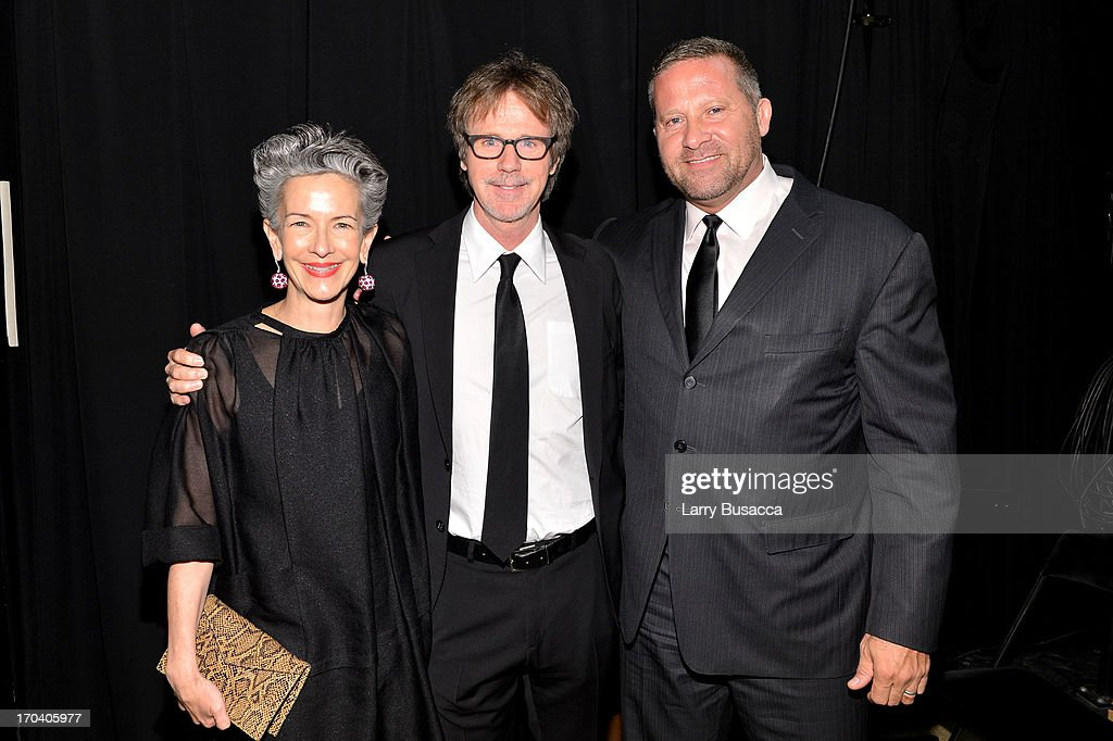 Catherine Walsh, Dana Carvey, and Stephen Mormoris attend the 2013 Fragrance Foundation Awards at Alice Tully Hall at Lincoln Center on June 12, 2013 in New York City.