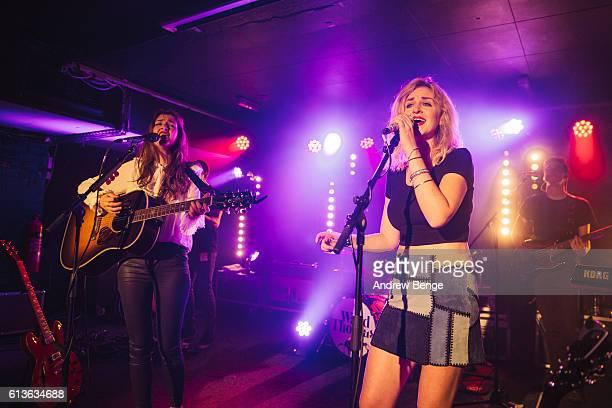 Catherine Ward Thomas and Lizzy Ward Thomas of Ward Thomas perform at The Wardrobe on October 9 2016 in Leeds England