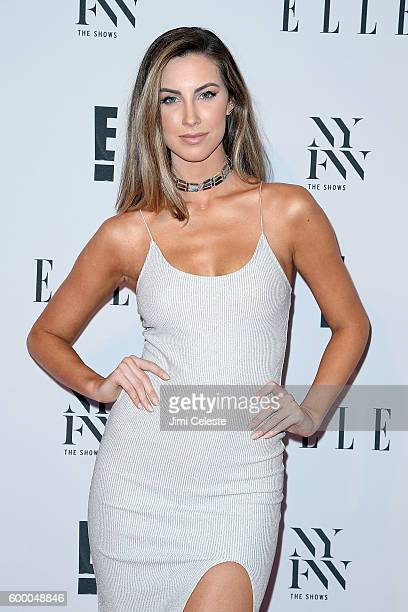 Catherine Webb attends E ELLE IMG KickOff NYFW The Shows with an Exclusive Celebration at Santina on September 7 2016 in New York City