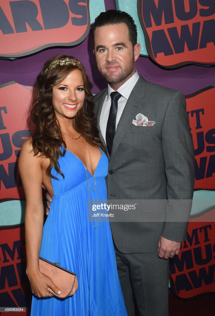 Catherine Werne And David Nail Attend The 2014 Cmt Music