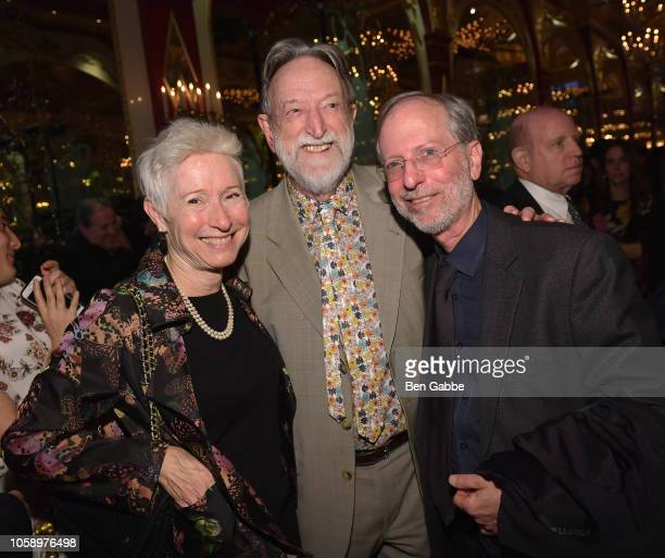 Catherine Westhoff Dr Malcolm Pike and Dr Eric Manheimer attend the 2018 Innovation Gala where Chemotherapy Foundation honors Actor Producer and...