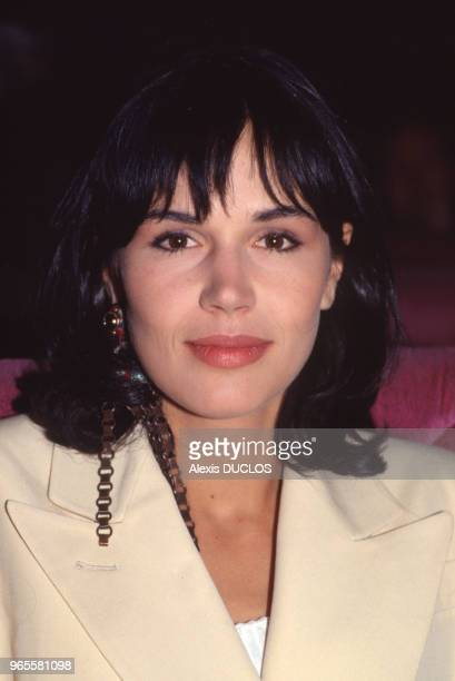 Catherine Wilkening actrice le 15 mai 1989 à Cannes France