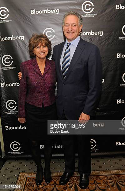 Catherine Williams, Executive Director Center for Communication and Daniel L. Doctoroff, President CEO of Bloomberg LP attends the 2012 Center for...