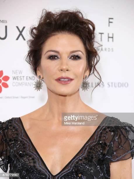 Catherine Zeta Jones attends the Walpole British Luxury Awards on November 20 2017 in London England