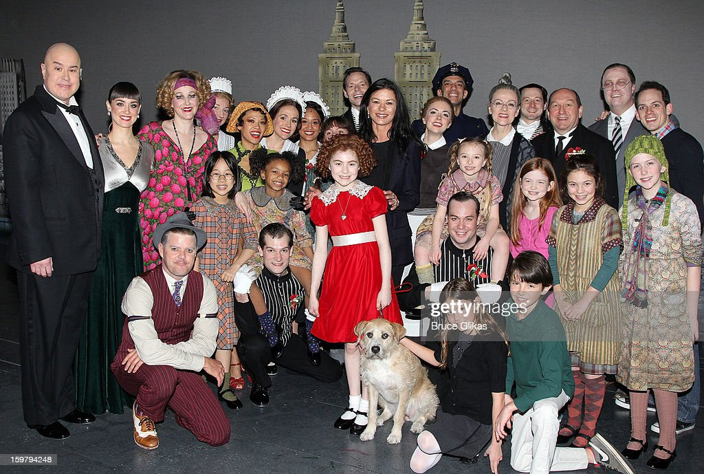 Celebrities Visit Broadway - January 20, 2013