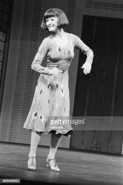 Catherine Zeta Jones dancing and playing the part of Peggy Sawyer in 42nd Street which opened in April 1987 at The Theatre Royal Drury Lane in London
