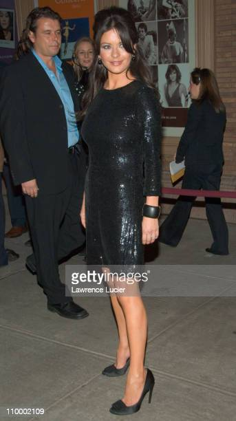 Catherine Zeta Jones during Glamour Magazine 2006 Women of the Year Awards Outside Arrivals at Carnegie Hall in New York NY United States