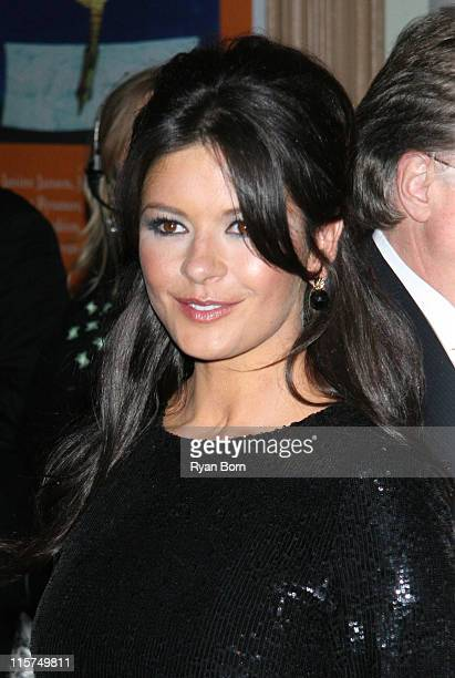 Catherine Zeta Jones during Glamour Magazine Honors The 2006 Women of The Year Outside Arrivals at Carnegie Hall in New York City New York United...