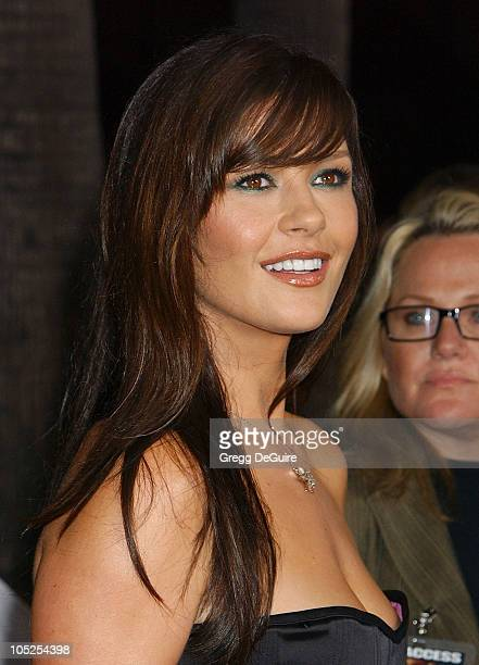 Catherine Zeta Jones during 'Intolerable Cruelty' Premiere Arrivals at Academy Theatre in Beverly Hills California United States